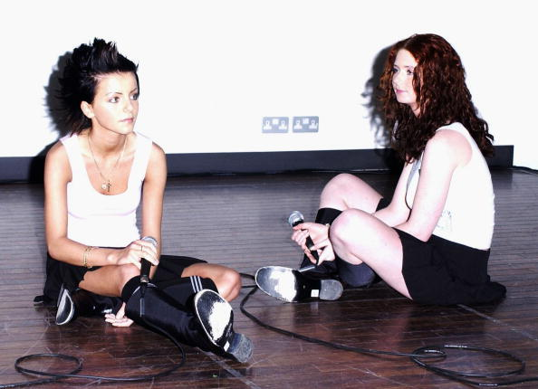 Tatu Perform at HMV Oxford Street