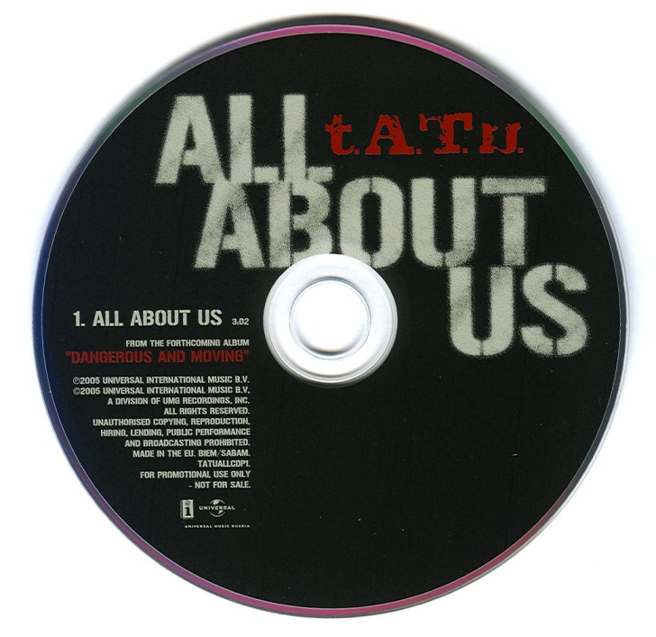 All About Us - Promo