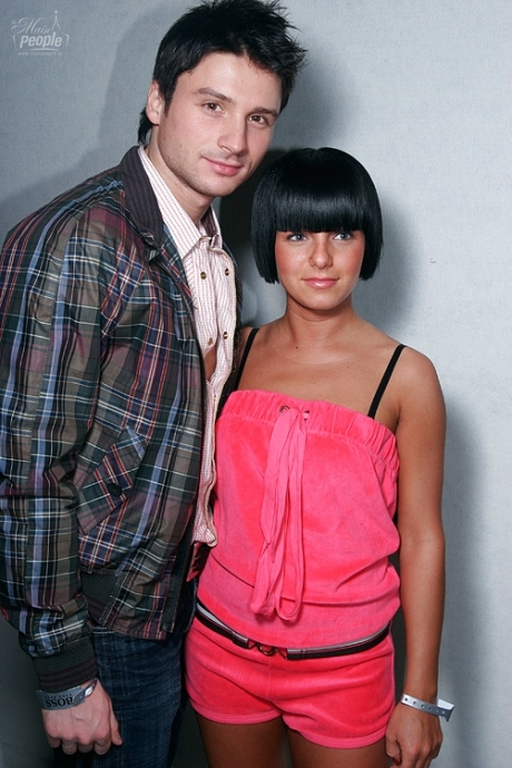 Yulia Volkova at Show of Spring-Summer 07 Hugo Boss Collection in Moscow 15.03.2007