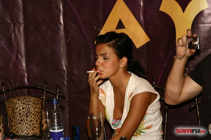 Press Conference at Aura Club in Samara 02.09.2006