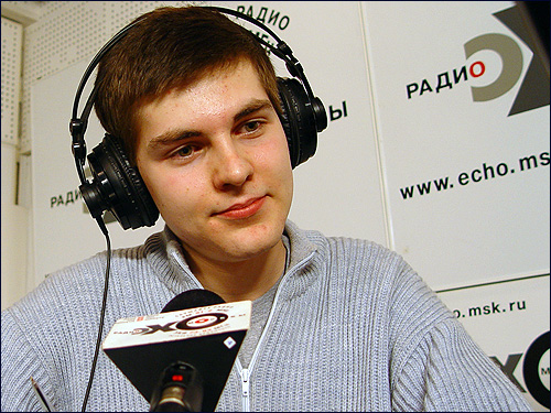 Ivan Shapovalov on Echo Moscow Argentum 07.03.2004