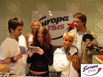 Tatu on radio station Europe Plus 01.09.2005